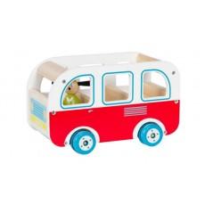 Bus en bois La Grande Famille - Moulin Roty