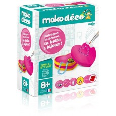 Moulage en plâtre Déco Ma boîte à bijoux - Mako Créations