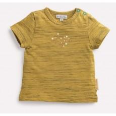 TOINE Tee-shirt ambre flamme Les Petits Habits Il était une fois printemps - été 2018 - Moulin Roty