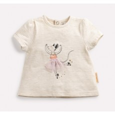 TANYA T-Shirt danseuse Les Petits Habits Il était une fois printemps - été 2018 - Moulin Roty