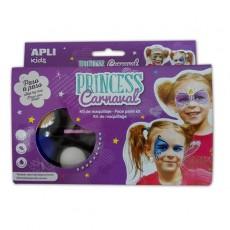 Kit de maquillage Princesse Carnaval - APLI Kids