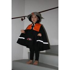 Déguisement Poncho Pompier - Farandole & Compagnie
