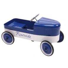Voiture à pédales Riverside Bleu / Blanc - Baghera
