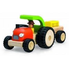 Tracteur avec remorque - Wonderworld