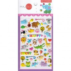 Stickers animaux rigolos - Majolo