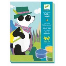 Sables colorés - Panda & ses copains - Djeco
