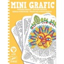 Mini Grafic - Coloriages Mandala - Djeco