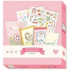 Coffret papeterie - Rosalie - Djeco Design by