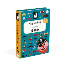 Magnéti'book Crazy Faces Garçon - Janod