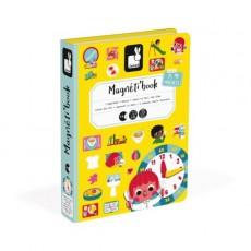 Magnéti'book J'apprends l'heure - Janod