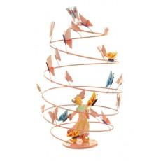 Mobile Spirale - Fille papillons - L'Oiseau Bateau