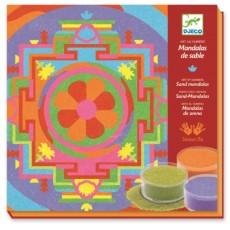 Sables colorés - Mandalas Tibétains - Djeco Design by