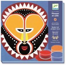 Sables colorés - Masques de sable - Djeco Design by