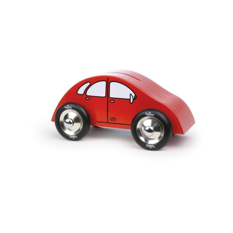 tirelire voiture rouge vilac jouet de famille. Black Bedroom Furniture Sets. Home Design Ideas