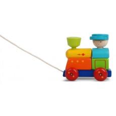 Train à tirer - Plan Toys