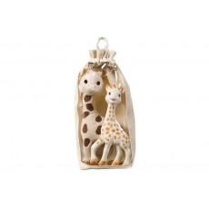 Set girafe peluche & Sophie la girafe® - Vulli