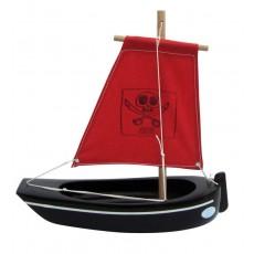 Bateau Thonier 22 cm coque noire - Tirot