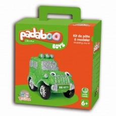 Kit de pâte à modeler Boys 4x4 - Padaboo - Téo & Zina