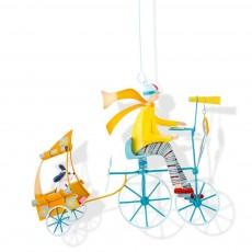 Mobile Triplé au chien jaune - Les Triplés & Triplettes - L'Oiseau Bateau