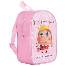 Petit sac à dos Princesse - Quand je serai grand(e) par Isabelle Kessedjan