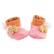 Chaussons rose - Les Tartempois - Moulin Roty