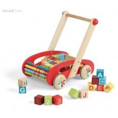 ABC Buggy Tatoo - 30 cubes - Janod