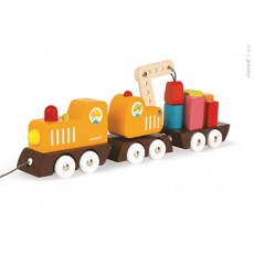 Train grue multi colors - Janod