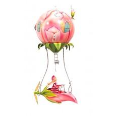 Mobile Bouton de rose - Les Schlumpeters - L'Oiseau Bateau