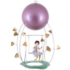 Mobile Schlumélémentaires - Fille à la balançoire - L'Oiseau Bateau