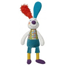 Doudou Jeff le lapin - La Happy Farm - Ebulobo