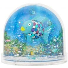 Boule à neige porte photo poisson arc en ciel - Trousselier