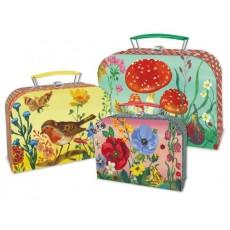 Set de 3 valises en carton Nathalie Lété - Vilac