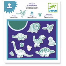 Tampons - Dinosaures - Djeco