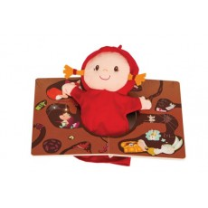 Livre avec marionnette Ohey Granny - Lilliputiens