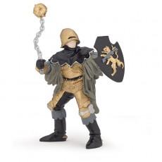 Figurine Officier à la masse d'arme noir et bronze - Papo