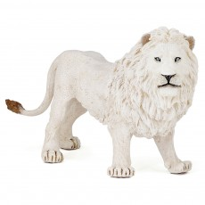 Figurine lion blanc - Papo