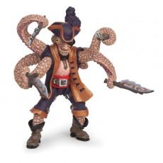 Figurine pirate mutant pieuvre - Papo