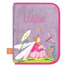 Libellule amoureuse - Protège carnet de santé Brodé - L'Oiseau Bateau