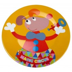 Assiette plate design Magic Circus - Ebulobo
