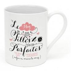 Mug porcelaine - Filles plus que parfaites - Créa Bisontine