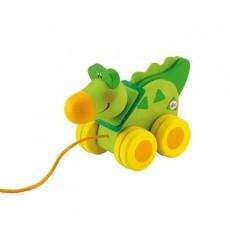 Mini jouet à traïner Crocodile - Sevi