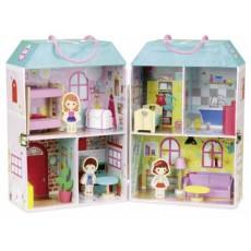 Maison de poupée en valise - Vilac