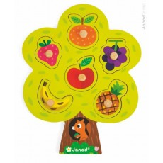 Puzzle Arbre Gourmand - Janod