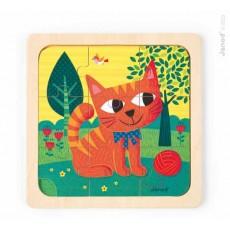 Puzzle Chat Félix - Janod