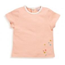 T-shirt rose Milord Les Petits Habits Tartempois été 2017 - Moulin Roty