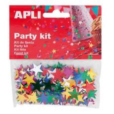 Sachet de confettis étoiles - APLI Kids