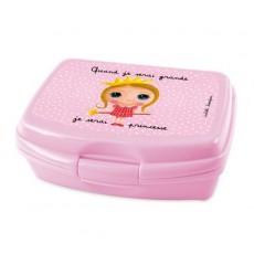 Boîte à goûter Princesse - Quand je serai grand(e) par Isabelle Kessedjan