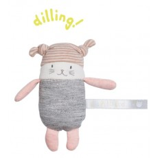 Hochet petit chat Moon Les Petits Dodos - Moulin Roty