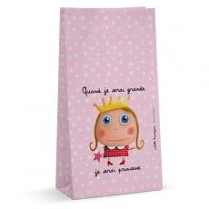 Lot de 6 sachets à bonbons - Princesse - Quand je serai grand