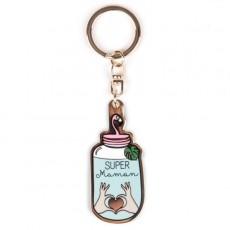 Porte-clés Super Maman - Créa bisontine